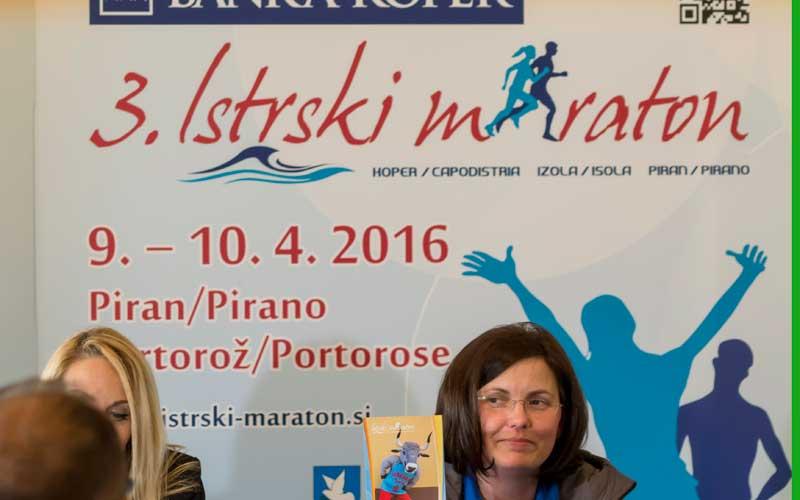 Banka Koper 3. Istrstski maraton – zanimivosti iz tiskovne konference