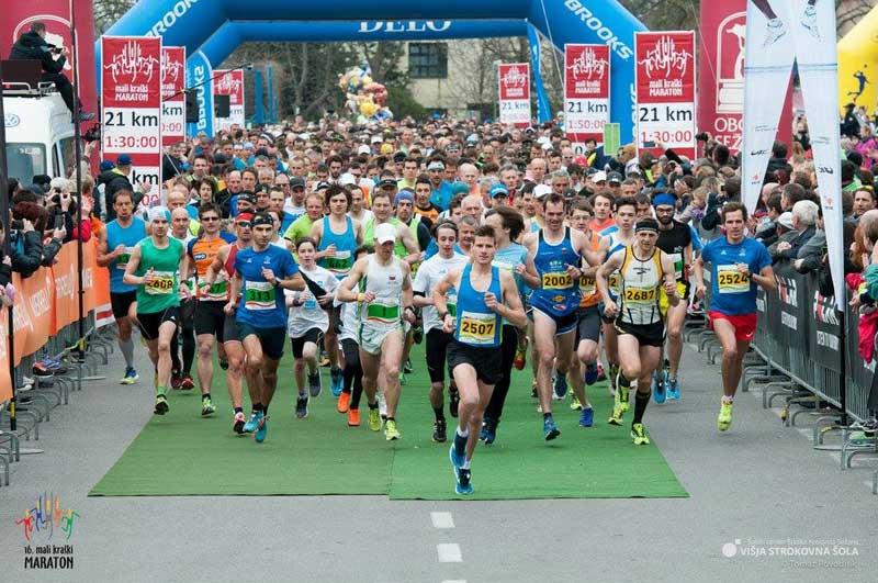 Velikonočni Mali Kraški maraton odprl sezono večjih tekaških prireditev
