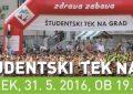 Študentski tek po ljubljanskih ulicah za vse