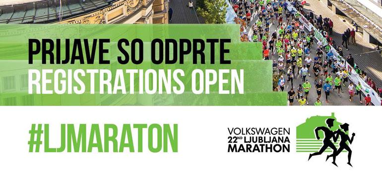 Na Ljubljanski maraton 2017 se lahko že prijavite!