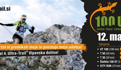 12. maj bo dan za 4. Ultra-Trail Vipavska dolina