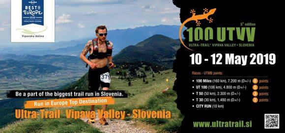 Ultra trail Vipavska dolina (UTVV) bo v maju 2019 povezal celotno Vipavsko dolino